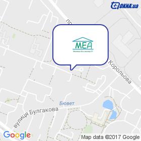 Милашевский на мапі