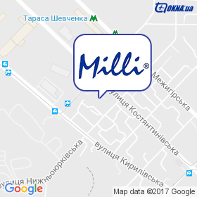 Milli на карте