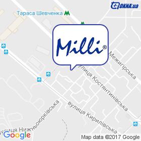 Milli на мапі