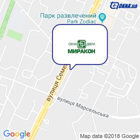 Миракон на карте