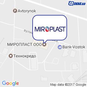 МІРОПЛАСТ на мапі