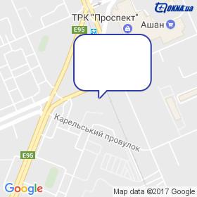 МК БУД на мапі