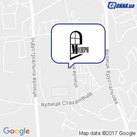 Модерн на мапі