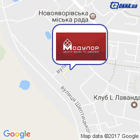 Модулор на карте