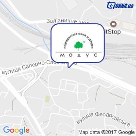 МОДУС на карте