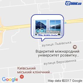 ТМ Молін на мапі
