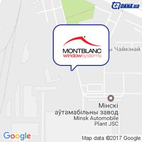 MONTBLANC на мапі