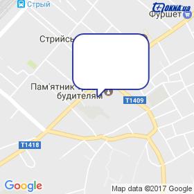 Монтер на карте
