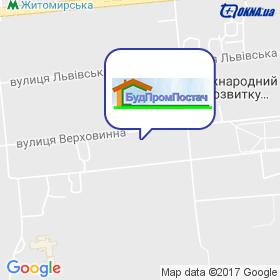 БудПромПостач на мапі