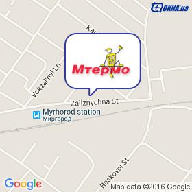 Мтермо ПКП на карте