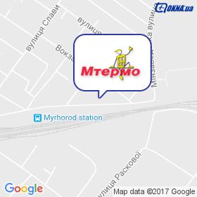Мтермо ПКП на мапі