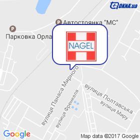 Nagel-Fenster, ДП на мапі
