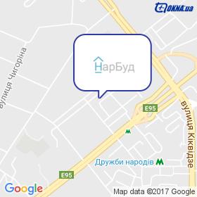 НарБуд на карте