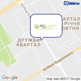 Nikoss на мапі