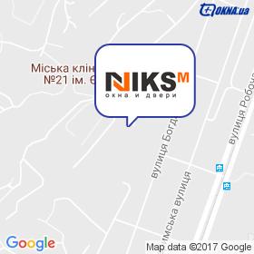 НИКС-М на карте