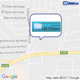 ВЕТЕРАН, НПП на карте