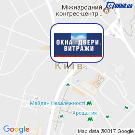 Журнал ВІКНА. ДВЕРІ. ВІТРАЖІ на мапі
