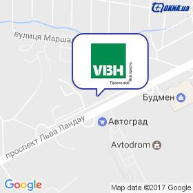 VBH-EAST (ФАУБЕХА-СХІД), дочірнє підприємство на мапі