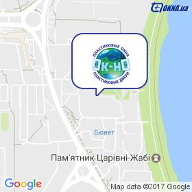 ОК-НО на карте