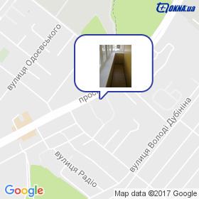 ВІКНА-ДВЕРІ на мапі