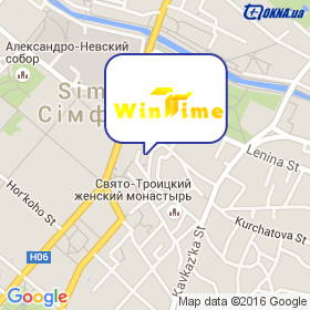 WinTime (Винтайм) на карте