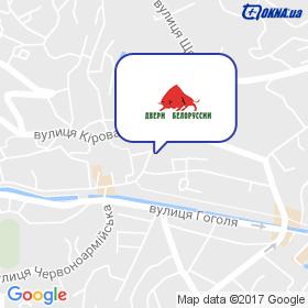 Андріанов на мапі