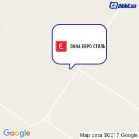 Вікна Євро Стиль на мапі
