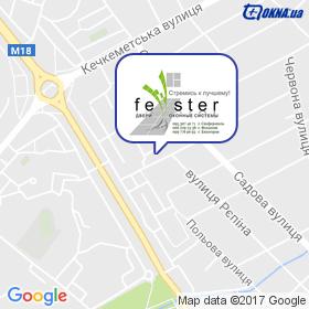 Fenster на мапі