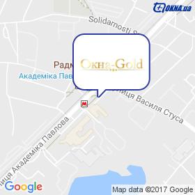 Окна-Gold на карте
