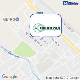 ОКНОГРАД на карте