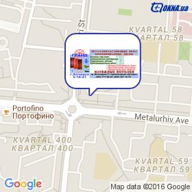 Окна Гранд Алчевск на карте