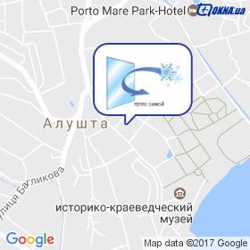 Окна Крыма на карте