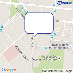 ОКНА-П на карте