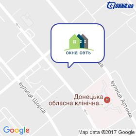 Вікна Мережа на мапі
