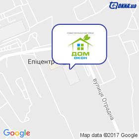 Дом Окон на карте