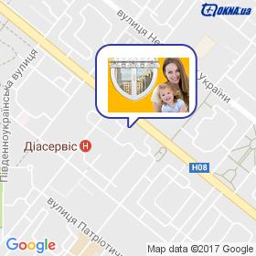 Оконный центр на карте