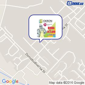 OKRON на карте