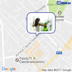 Омельченко на карте