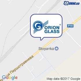 Оріон-Глас, ТД на мапі
