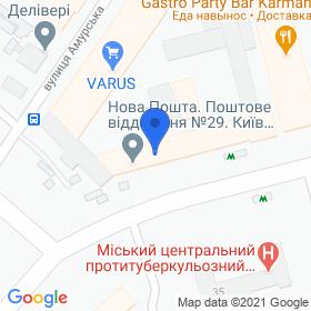 ОРНЕТ на карте