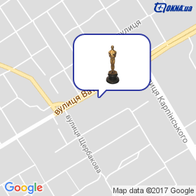 Оскар на мапі