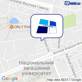 Остапенко на мапі