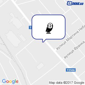 Овлстрой на карте