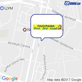 ПаніРама на мапі