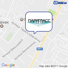 ПАРІГЛАС на мапі