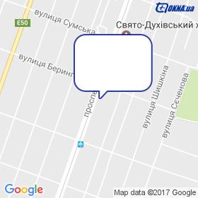 Лотков на мапі