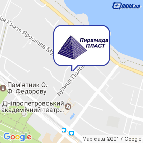 Пирамида Пласт на карте