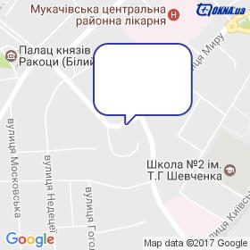 Пішковцій на мапі