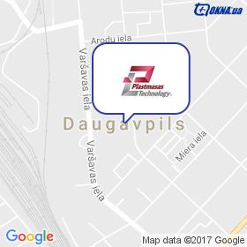 Plastmasas Technology SIA на мапі