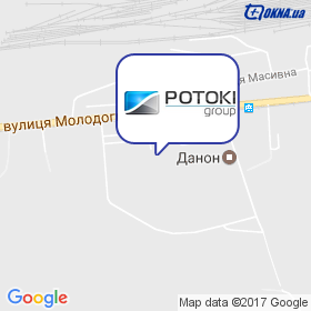 Potoki Group на мапі